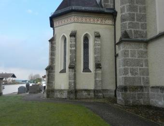 Fassade Kirche Palling Denkmal