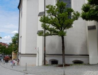 Fassade St. Jakobus, Dachau
